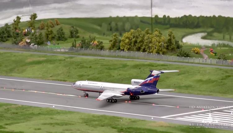 aeropuerto miniatura