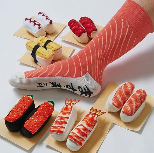 calcetines de sushi 1