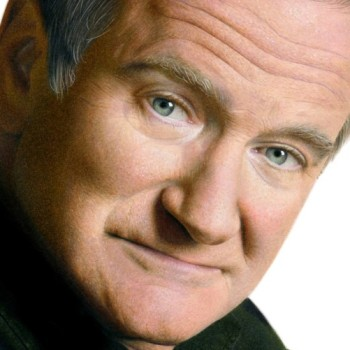 dibujo hiperrealista robin williams