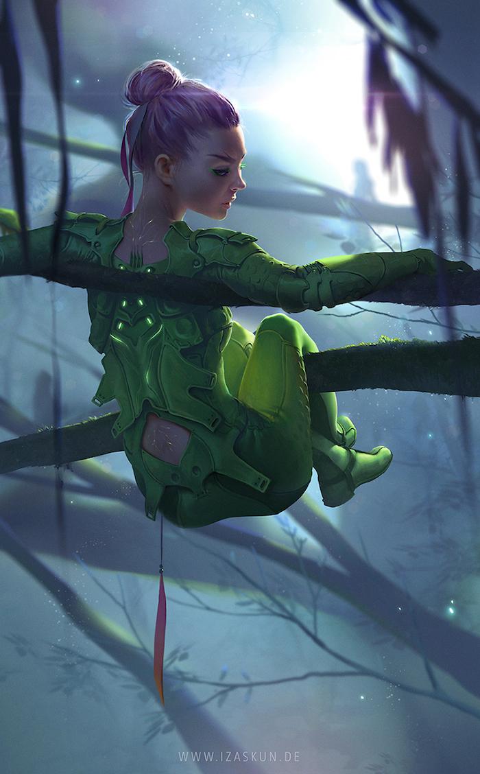 diseños de personajes Jennifer Wuestling 1