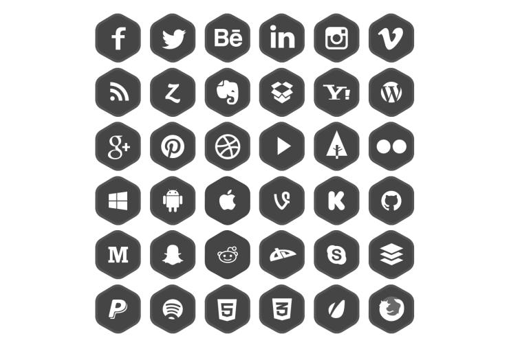 iconos redes sociales 4