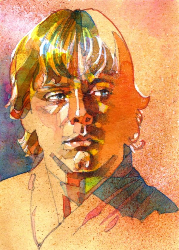 ilustraciones pop luke skywalker