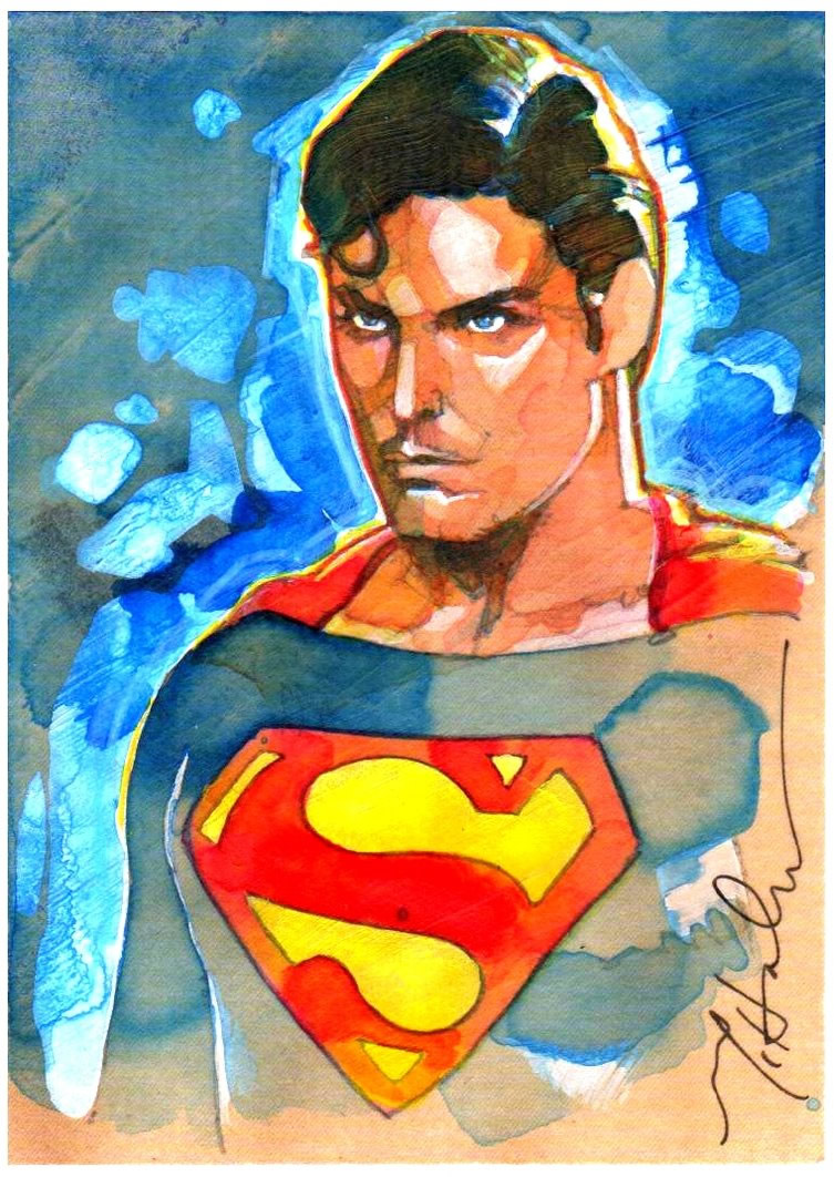 ilustraciones pop superman