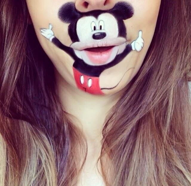 maquillaje Laura Jenkinson mickey