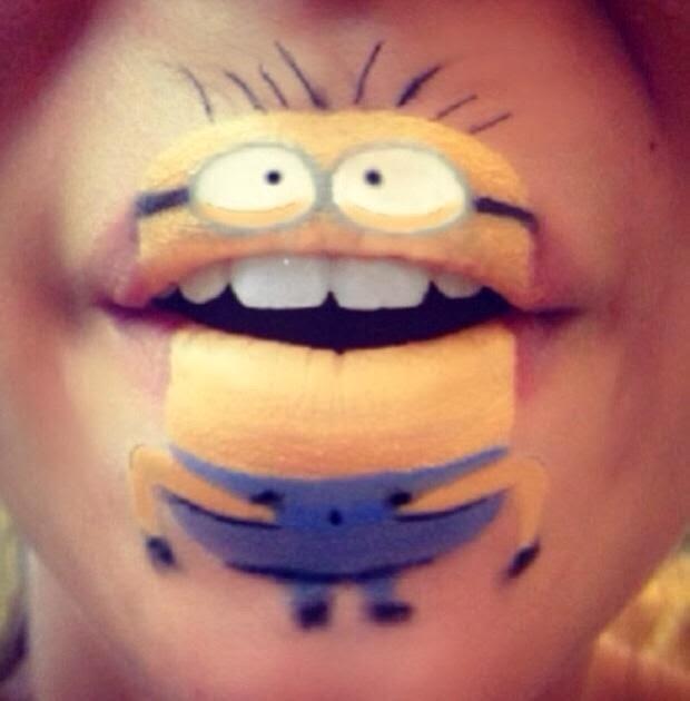 maquillaje Laura Jenkinson minion