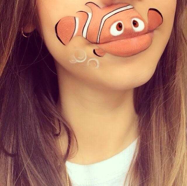 maquillaje Laura Jenkinson nemo