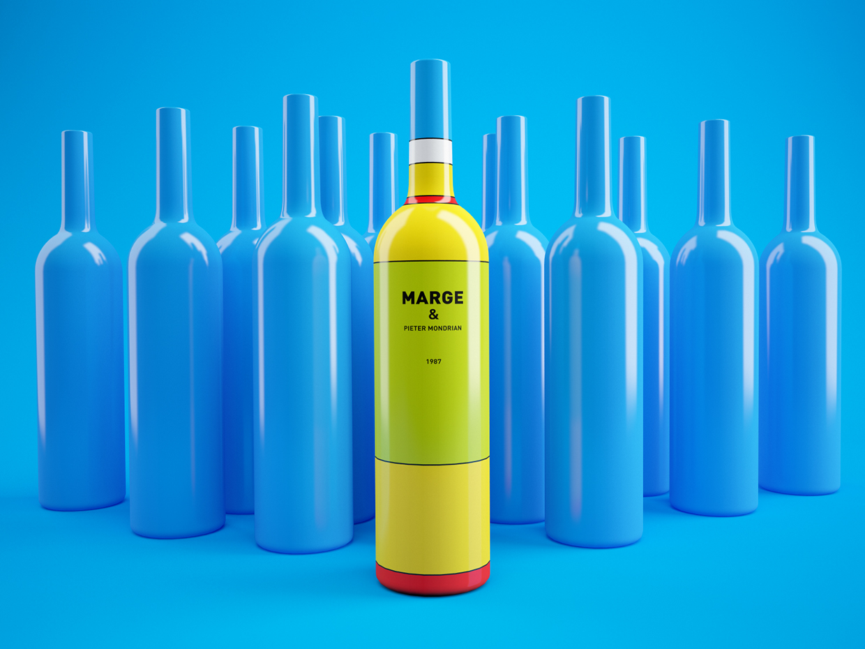 packaging vino los simpsons 6