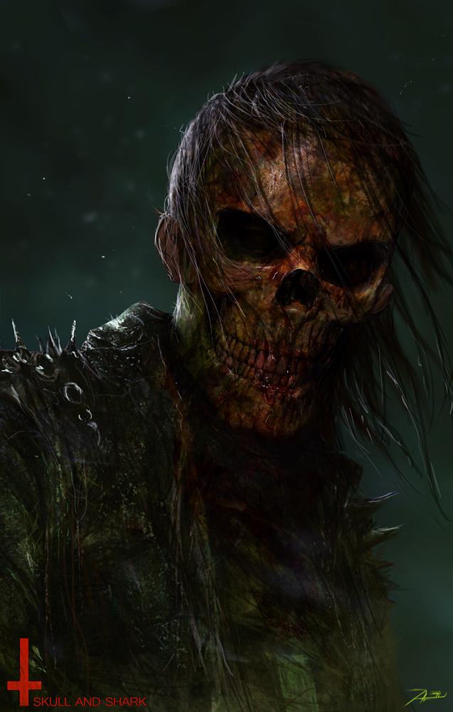 personajes 3d Adnan Ali skull