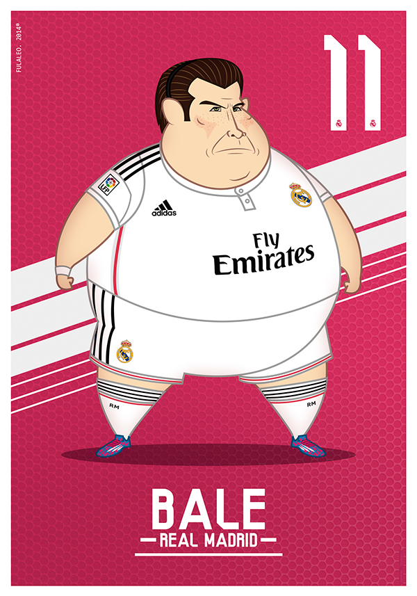 real madrid gordos bale