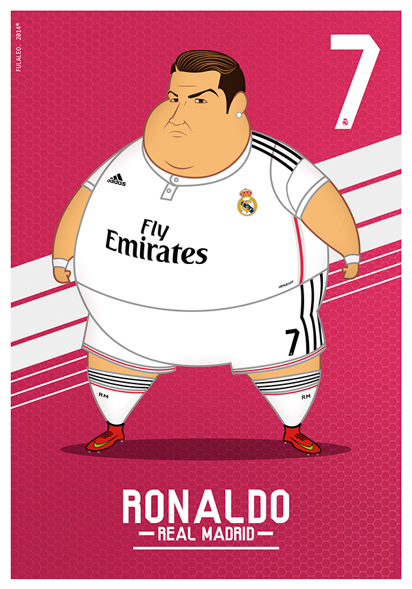 real madrid gordos ronaldo
