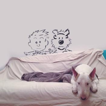 Bull Terrier ilustraciones 6