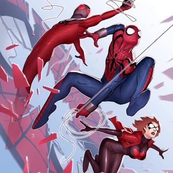 David Nakayama ilustraciones superheroes 1