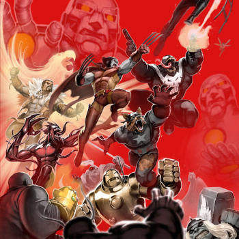 David Nakayama ilustraciones superheroes 10