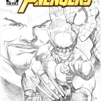 David Nakayama ilustraciones superheroes 12
