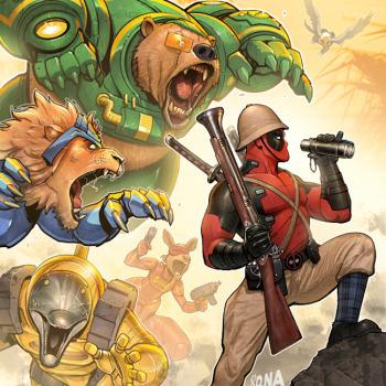 David Nakayama ilustraciones superheroes 3