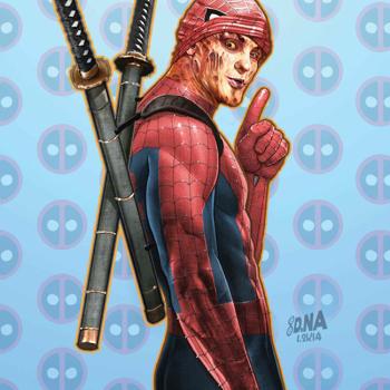 David Nakayama ilustraciones superheroes 4