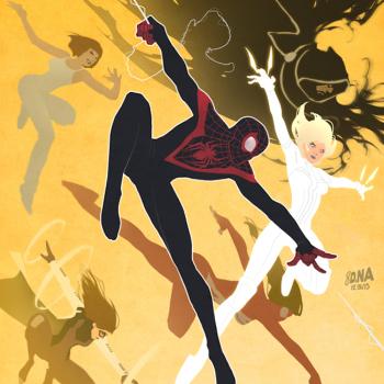David Nakayama ilustraciones superheroes 6