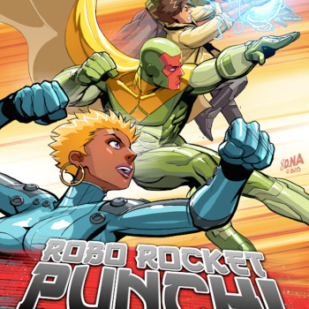 David Nakayama ilustraciones superheroes 8