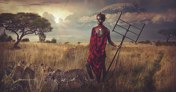 Fotos guerreros Maasai 1