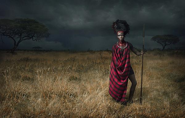 Fotos guerreros Maasai 2