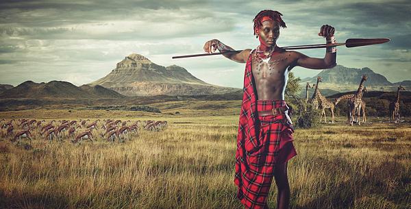 Fotos guerreros Maasai 3