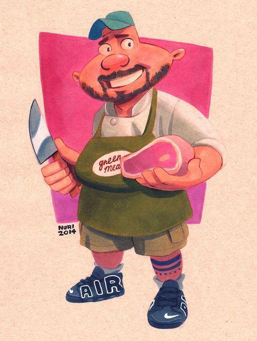 el señor Green dejó la carnicería para continuar su carrera política y le dejó el local a Harold y posteriormente la convirtió en un sitio kosher, debido a que él profesa la religión judía. Actualmente mantiene una relación con la Gran Paty.