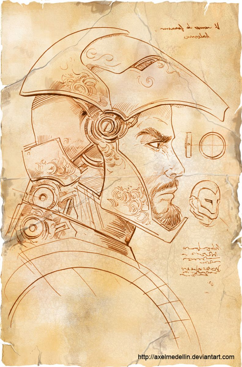 Iron-Man Da Vinci 2