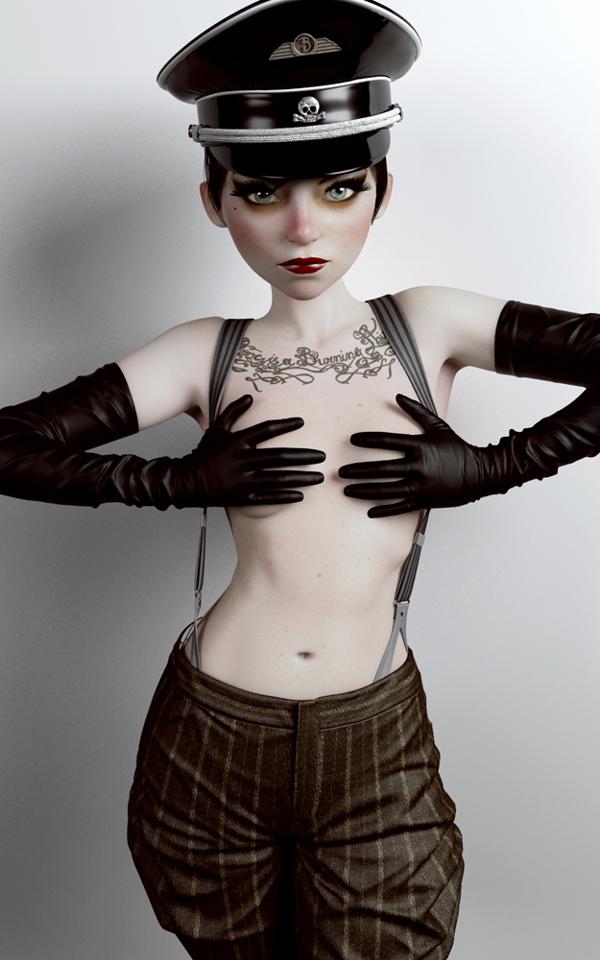 Rebeca Puebla personajes 3D 3