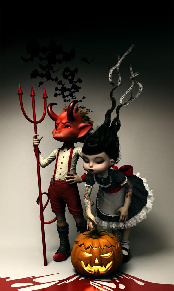 Rebeca Puebla personajes 3D 4