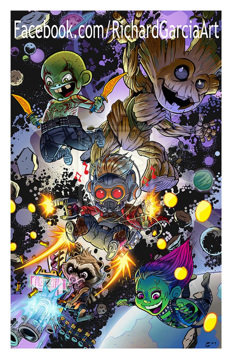 Los Guardianes de la Galaxía