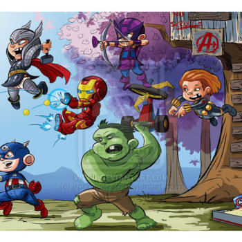 Richard Garcia superheroes miniatura vengadores