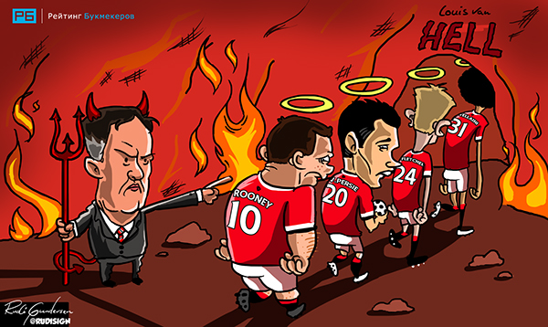 Rudi Gundersen caricaturas futbol 10