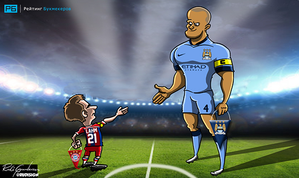 Rudi Gundersen caricaturas futbol 2