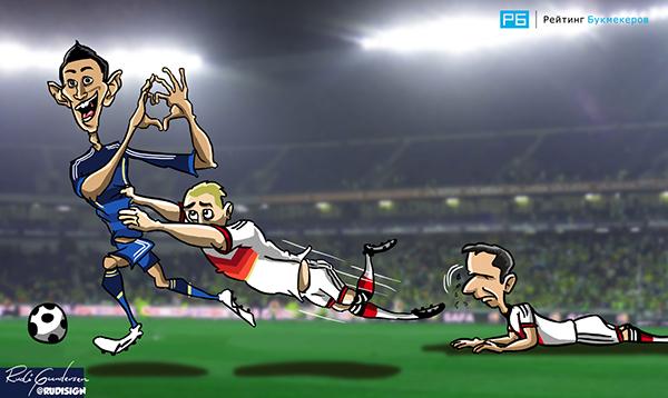 Rudi Gundersen caricaturas futbol 5