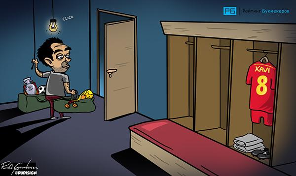 Rudi Gundersen caricaturas futbol 7