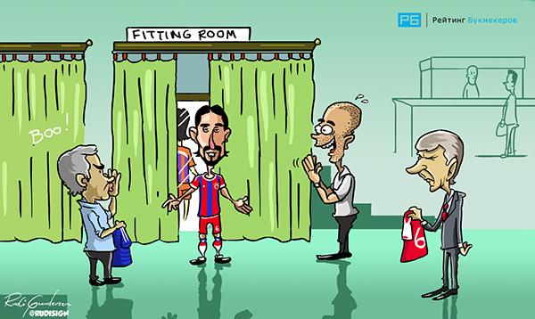 Rudi Gundersen caricaturas futbol 8