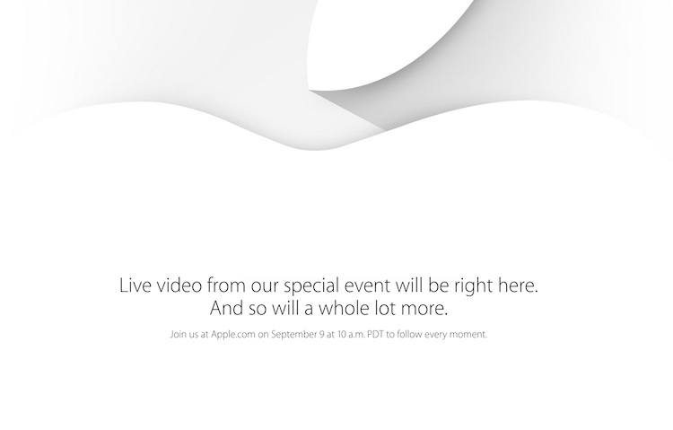 apple evento en vivo
