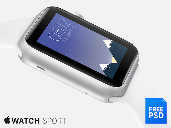 Apple Watch Sport - Photoshop - por Murat Gonet