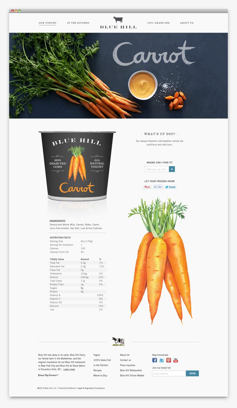 branding Blue Hill Yogurt imagen 11