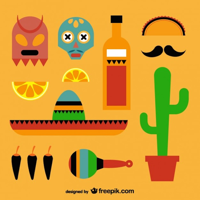 Elementos gráficos mexicanos
