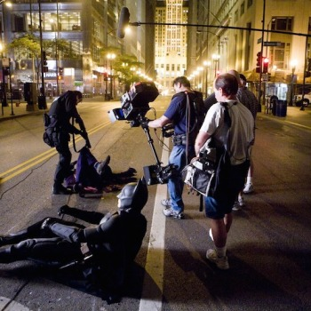 fotos behind scenes batman dark knight 10