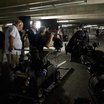 fotos behind scenes batman dark knight 16