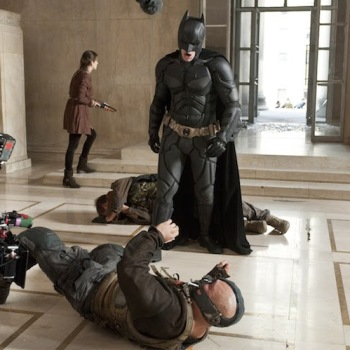 fotos behind scenes batman dark knight 24