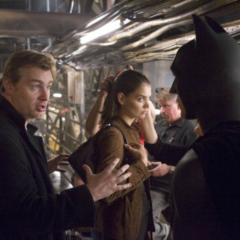 fotos behind scenes batman dark knight 4