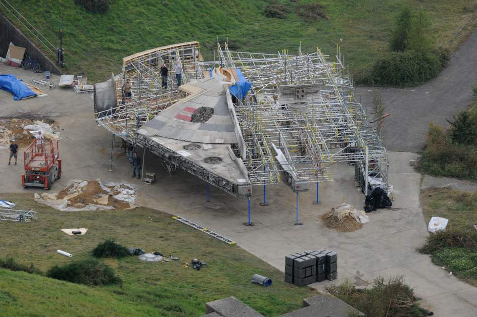 fotos set grabacion star wars 1