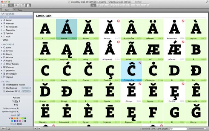 glyphs-app 1