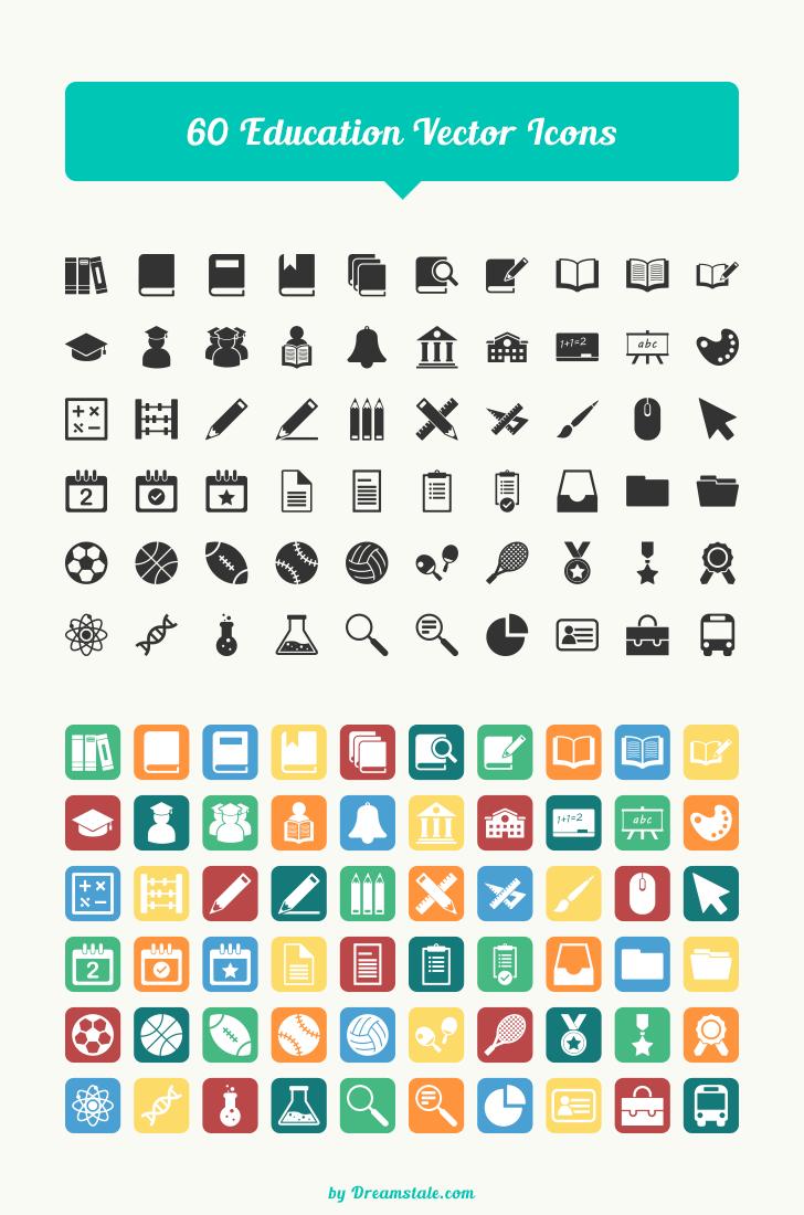 iconos de educacion