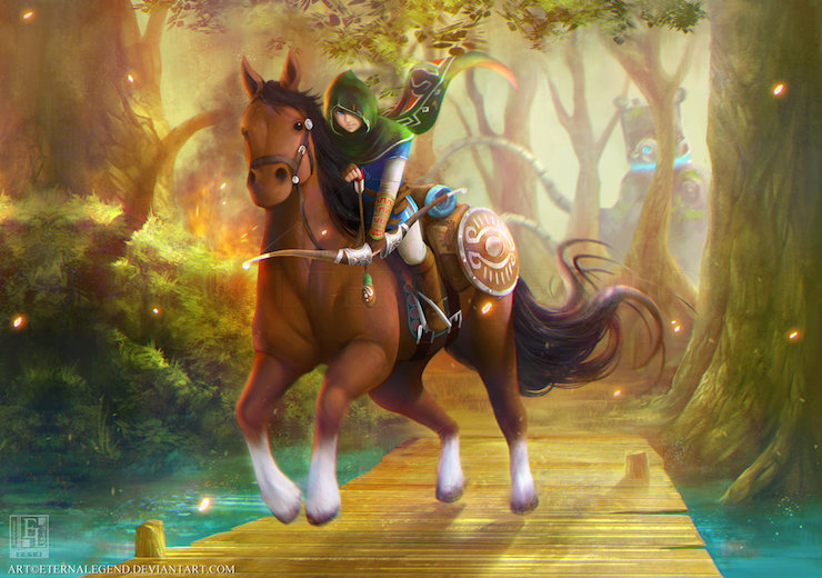 ilustraciones videojuegos EternaLegend 2