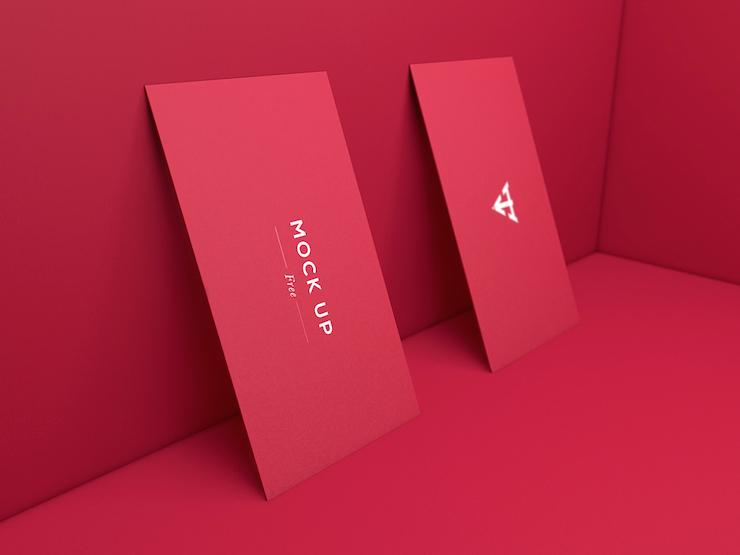 mockups tarjetas de presentacion 2