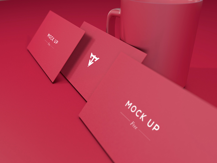 mockups tarjetas de presentacion 4